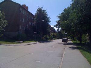 La strada di casa