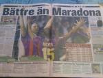 Meglio di Maradona!
