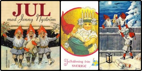 I Tomtar di Jenny Nyström
