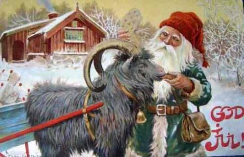 Da notare come, nei decenni successivi, il Jultomten delle illustrazioni della Nyström cominciò a convergere con Santa Claus.