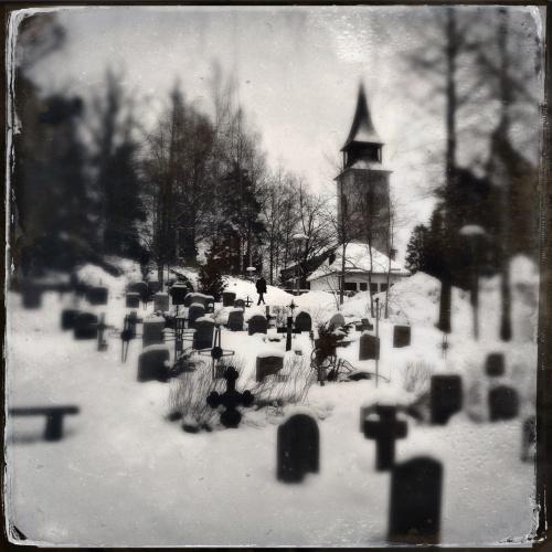 La chiesa di Boo, vicino a Stoccolma