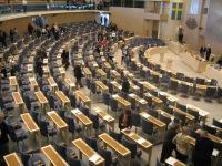 L'aula del Riksdag