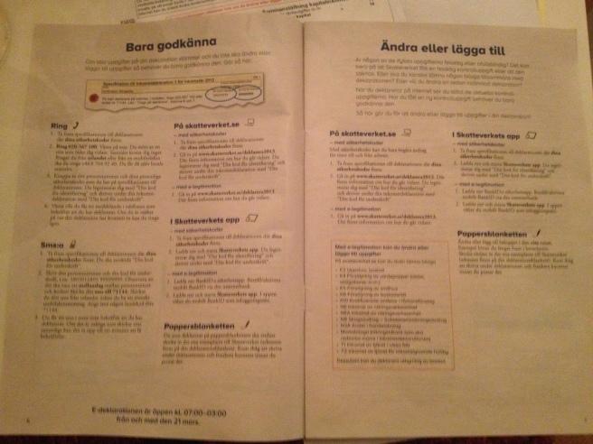 Le istruzioni