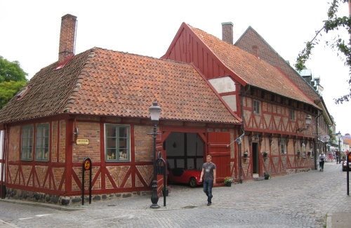 Case in korsvirke ad Ystad