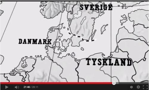 Immagine presa dal documentario della tv di stato Svenska dialektmysterier