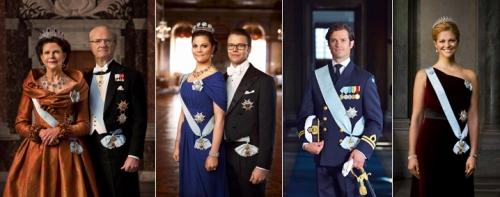 La famiglia reale - immagine dal sito ufficiale