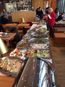 Il buffet al ristorante D-Vino(Emporia)