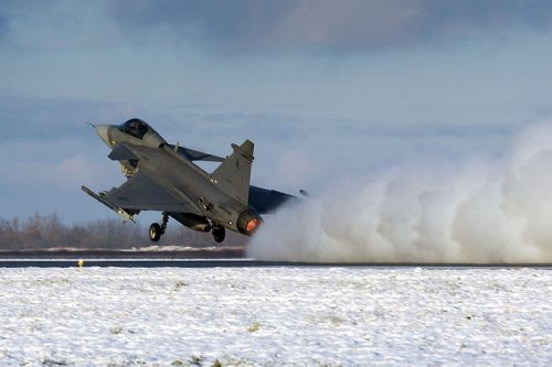 Gripen © Milan Nykodym, Czech Republic Su licenza Creative Common