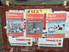 Alcuni partiti minori di estrema sinistra hanno deciso di non presentarsi per boicottare un UE considerata troppo liberista e filo-grandi poteri.