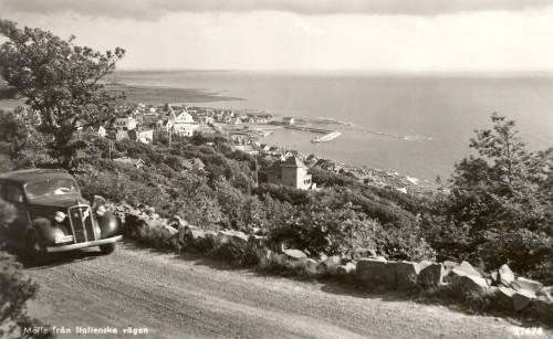 Italienska Vägen con Mölle negli anni '50 Foto di pubblico dominio.