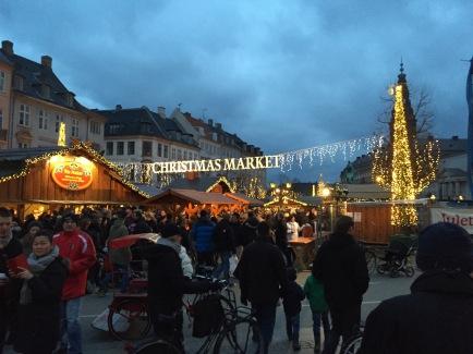 L'ingresso del mercatino