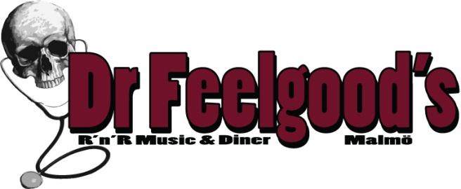 Il logo (un po' bruttino e stereotipato) del Dr Feelgood's. ©  degli aventi diritto.