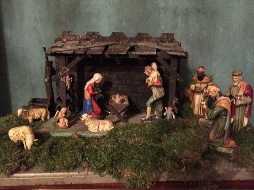 Il presepe (senza bue, asinello... e San Giuseppe)