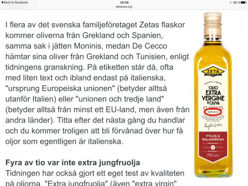 L'articolo di di Äkta Vara