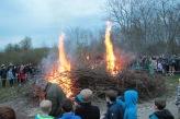 Il fuoco inizia a prendere forza