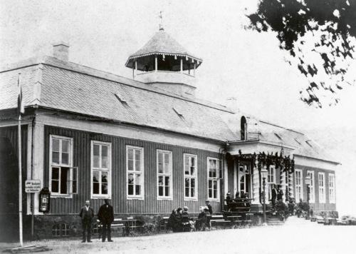 Il Grand Hotel, prima versione